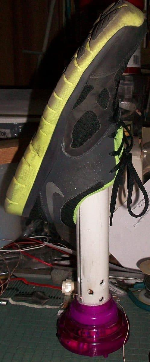 Shoe Ionizer Plans
