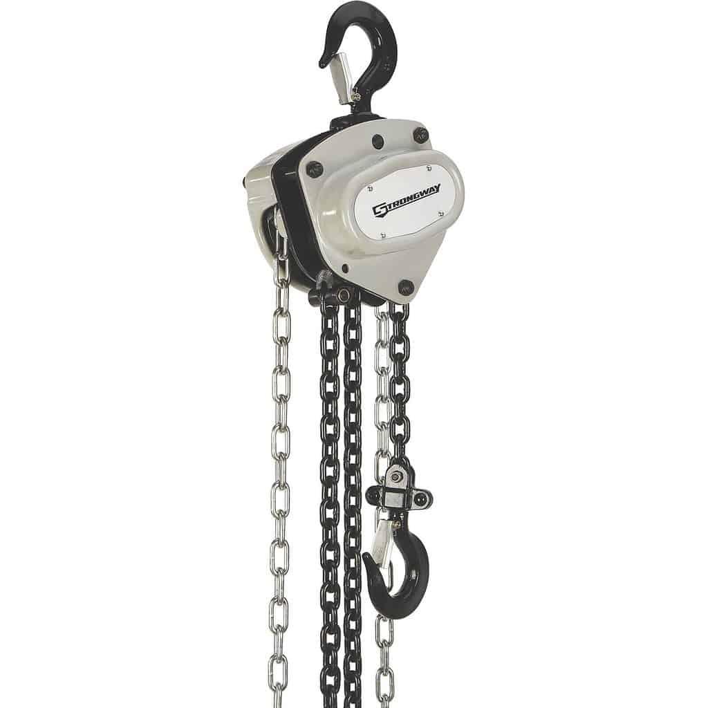 chain hoists and come alongs
