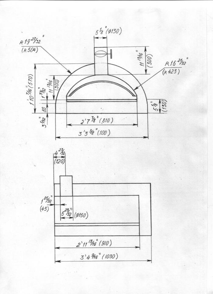Steel Pizza Oven Plans