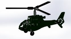 helicopter plasma table dxf files