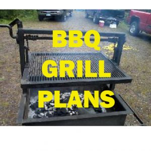BBQ Grill Plans