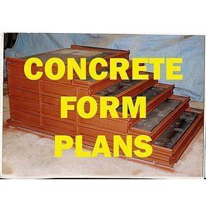 Concrete Form Plans