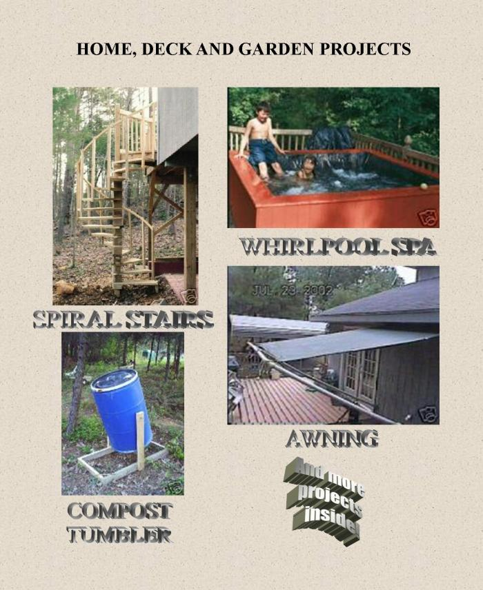 Home, Deck and Garden Projects