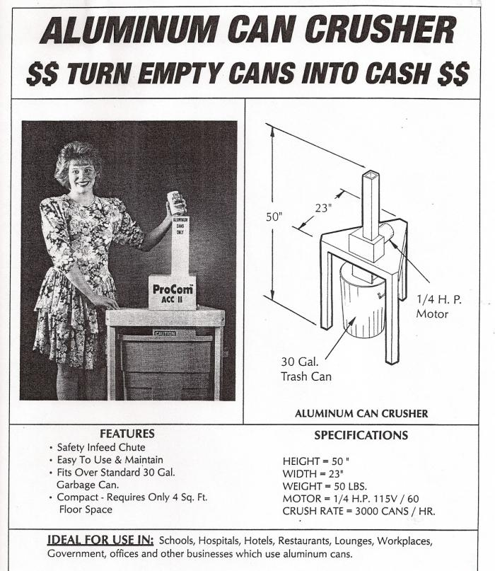 Do It Yourself Home Design: Aluminum Can Crusher Plans