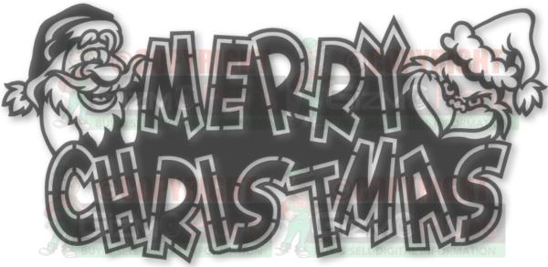 Christmas DXF Files