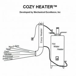 DIY Combination Water and Space Heating System