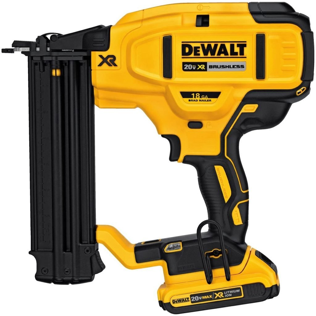 DEWALT 20V MAX Cordless Brad Nailer Kit
