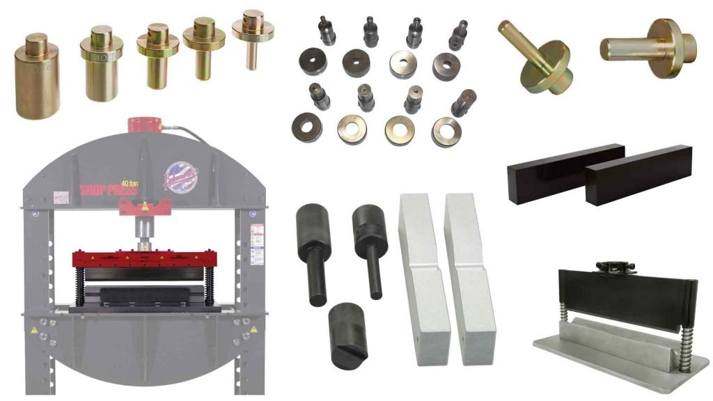 best shop press accessories for automotive and fabrication.