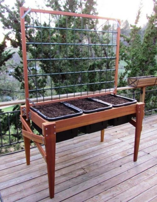 tall raised garden bed plans