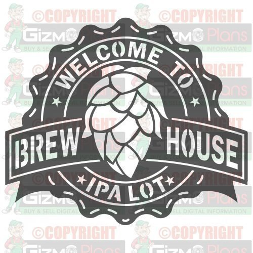 IPA LOT Brewhouse DXF Plasma Table File