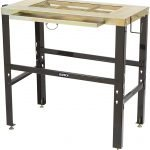 Klutch Metal-Top Welding Table with Slag Drawer