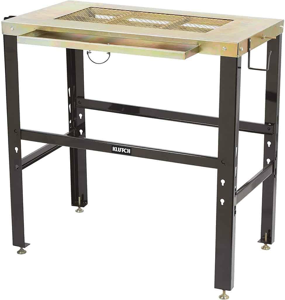 Klutch Metal-Top Welding Table