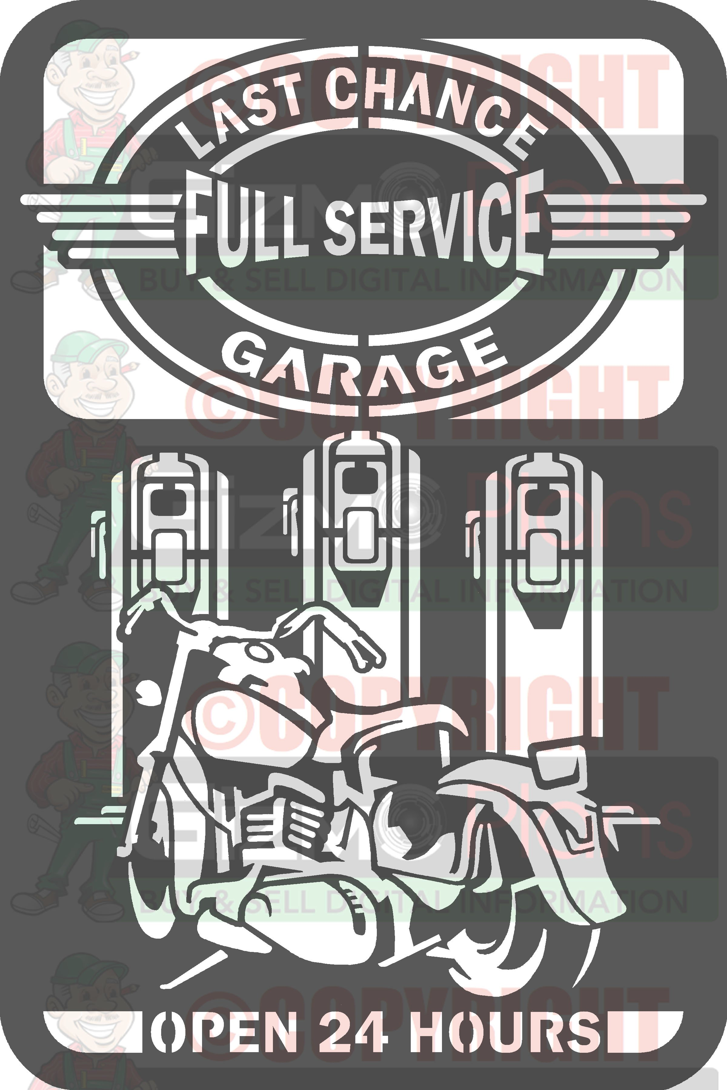 Last Chance Garage DXF Files