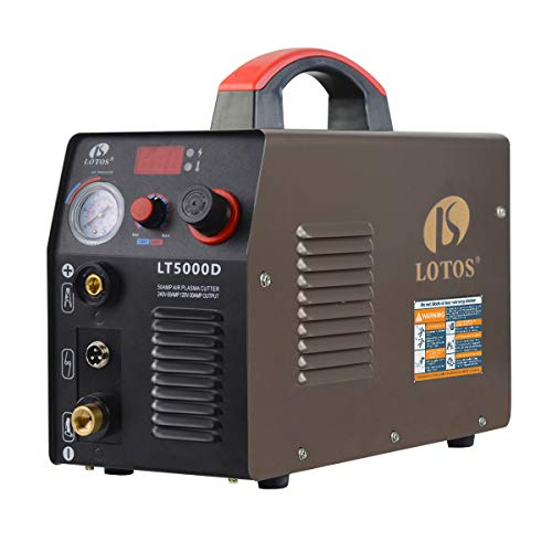 Lotos Brown LTP5000D Dual-Voltage Pilot Arc Plasma Cutter