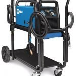 Millermatic 211 MIG Welder With Advanced Auto-Set And Cart