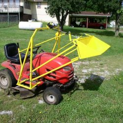 Lawn Tractor Front End Loader Plans