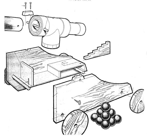 Free Pvc Cannon Plans Fun Salute Cannon Build