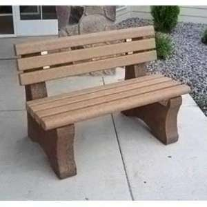 precast park bench leg mold plans