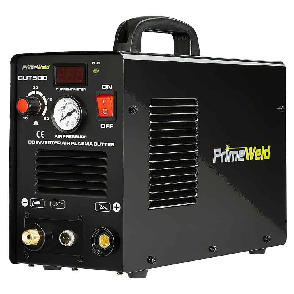 PrimeWeld CUT-50DP Dual-Voltage Pilot Arc Plasma Cutter