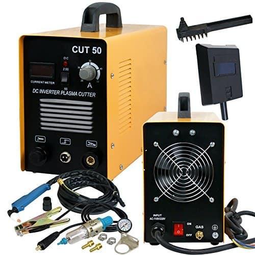 SUPER DEAL CUT-50 DC Dual-Voltage Inverter Plasma Cutter