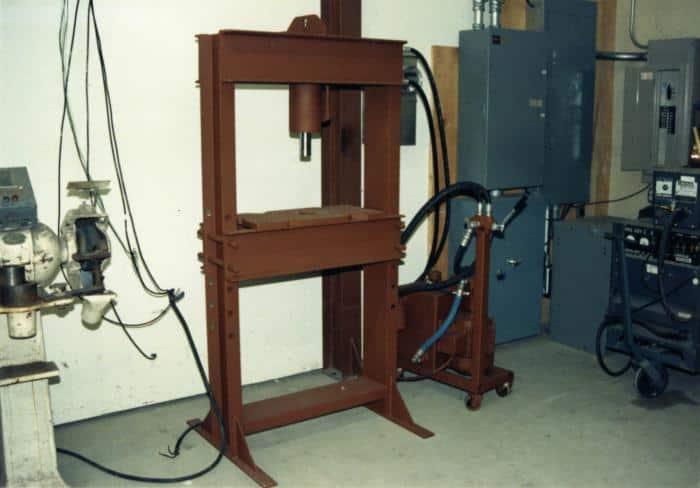 Hydraulic Press Plans PDF (Includes