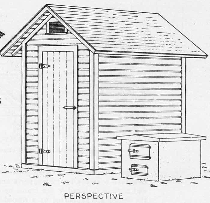 Free Smokehouse Plans (Simple Homemade Smokehouse) on