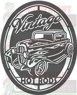 Vintage Hot Rod plasma