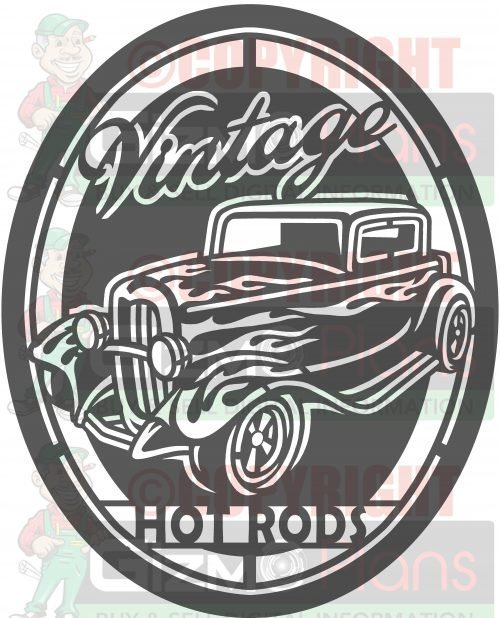 Vintage Hot Rod plasma