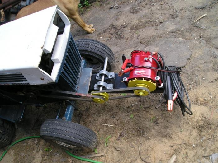 Alternator Welder Plans  Build From Scrap Junk Yard Parts