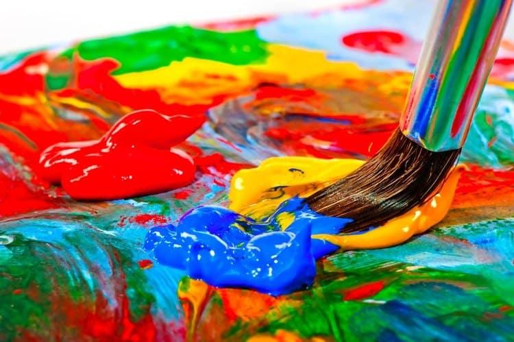 acrylic paint (2)