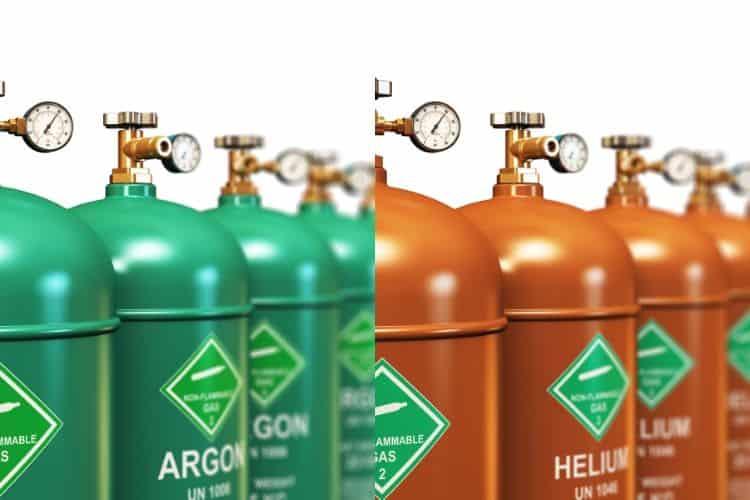 argon and helium