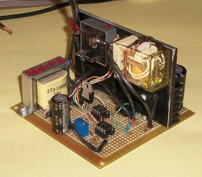 build a voltage regulator