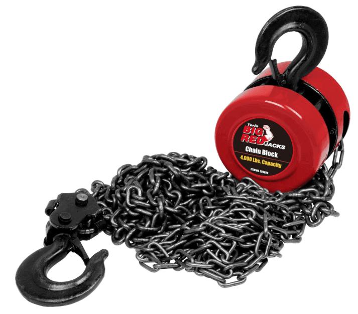chain block manual hoist