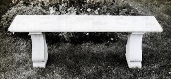 diy concrete bench mold plans