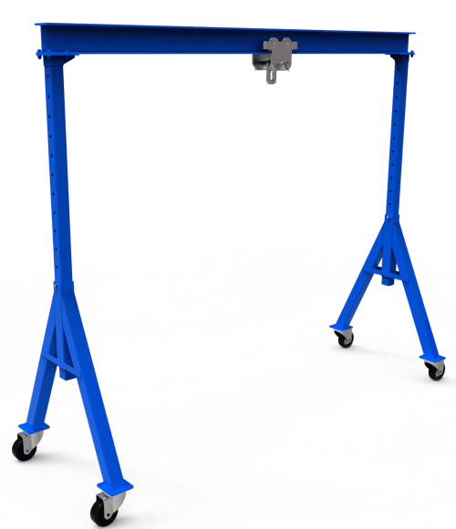 diy gantry crane - adjustable