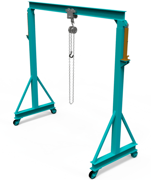 diy gantry crane plans
