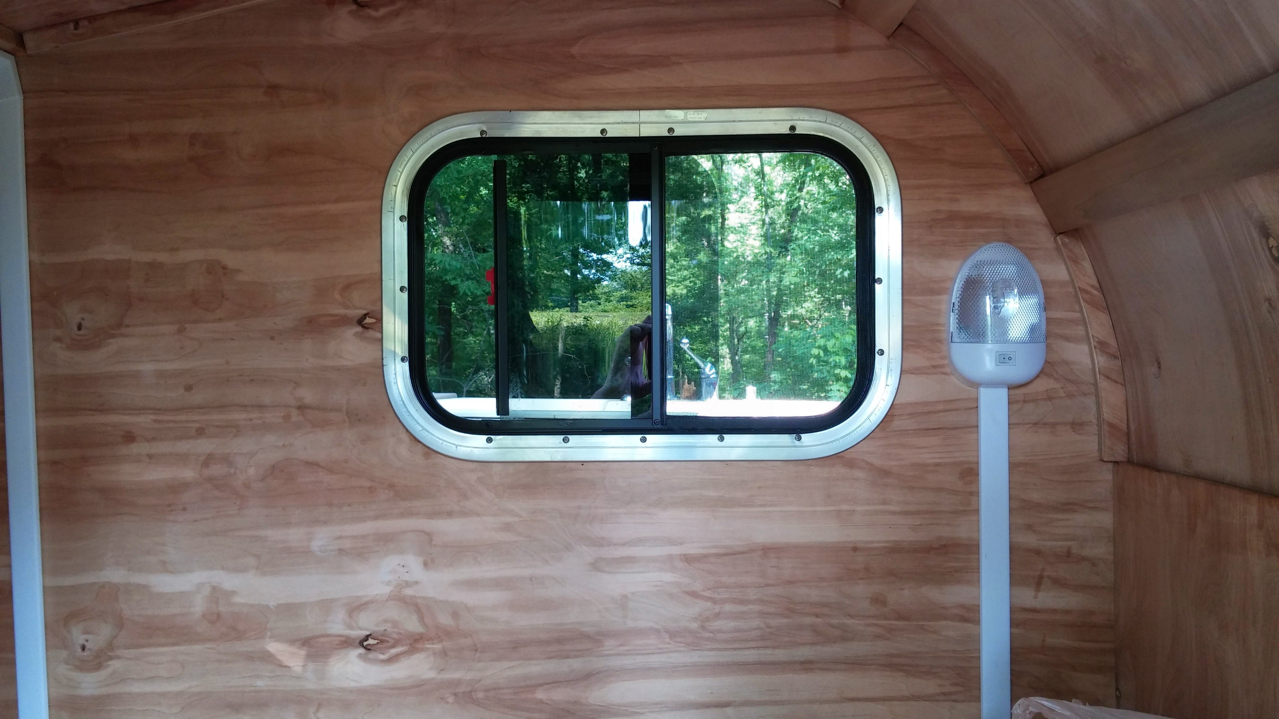 Motorcycle Teardrop Camper Plans (Completed Pictures)