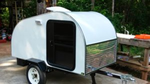 motorcycle camper trailer plans