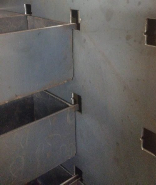 cnc plasma metal storage wall bracket