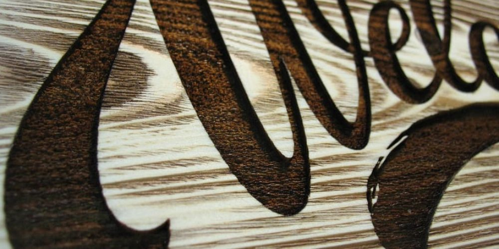 what wood can you laser engrave