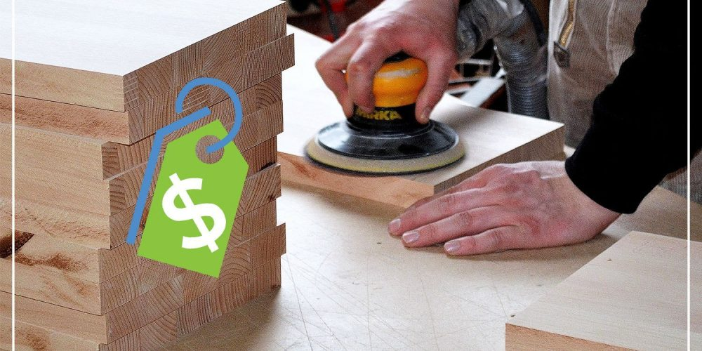 how much should you charge for woodworking