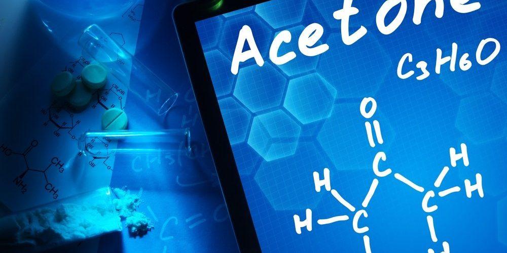 is acetone polar