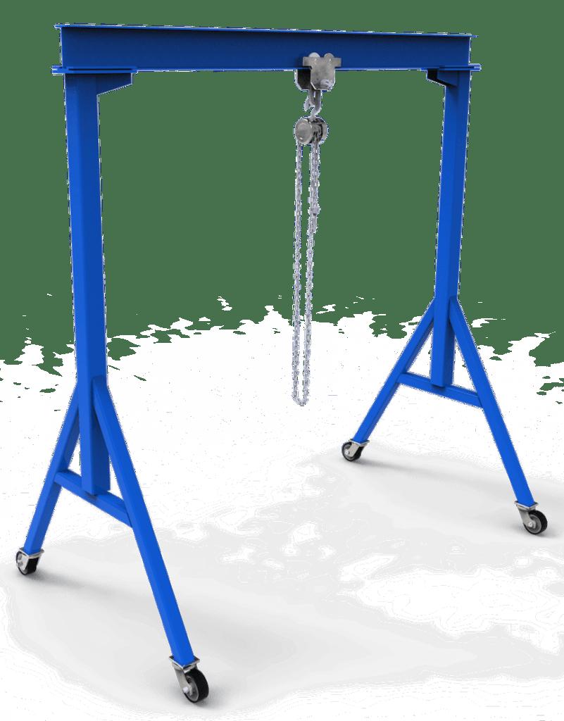 fixed diy gantry crane plans