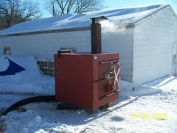 outdoor wood boiler plans