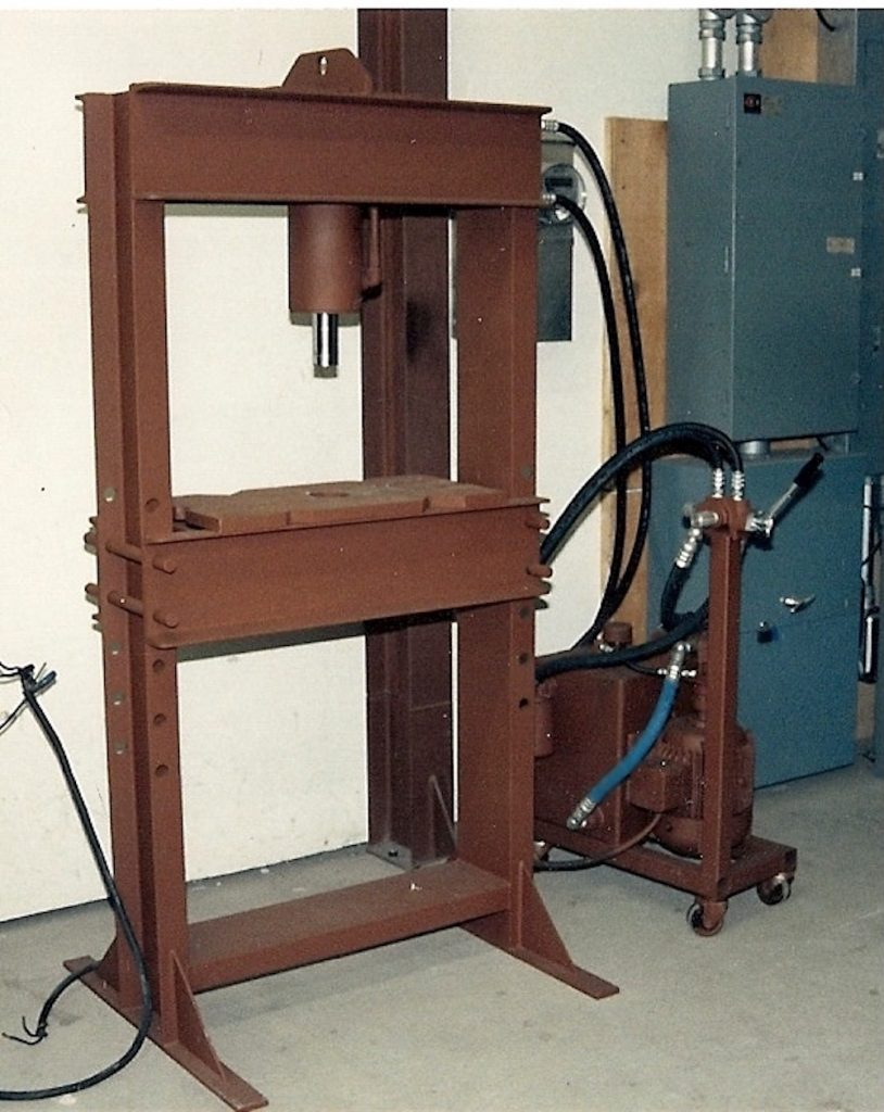 Completed Shop Press Build