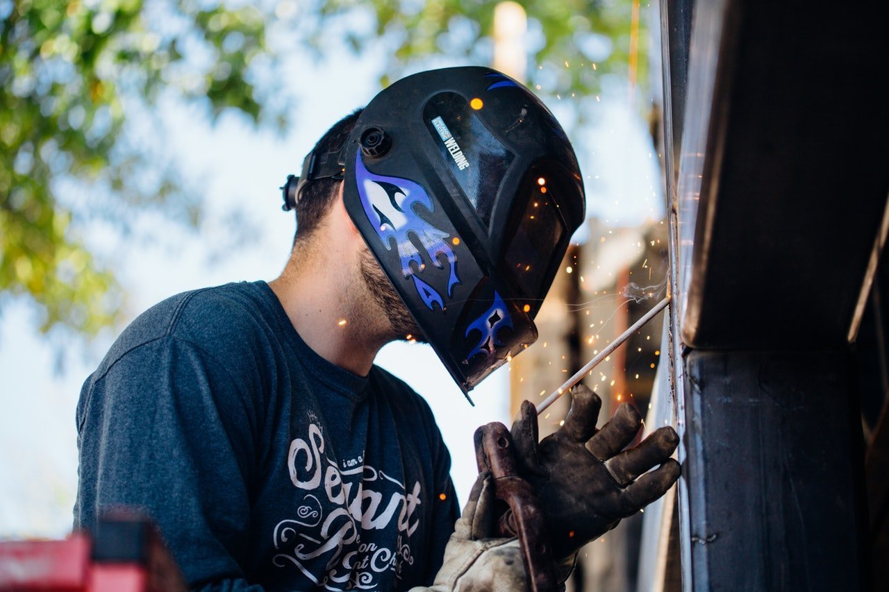 is welding bad for your eyes