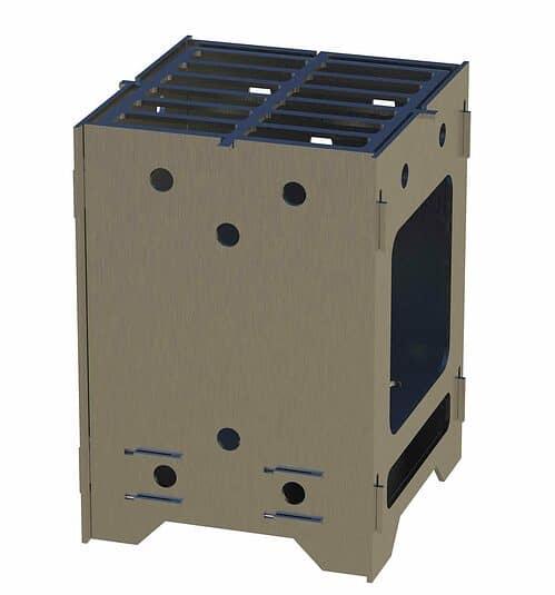 mini camp stove cnc plasma dxf files