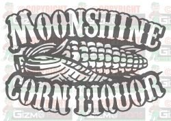 Moonshine Corn Liquor dxf CNC File