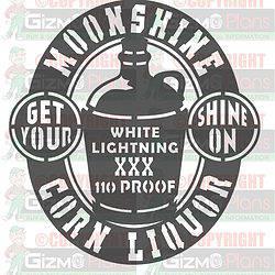 moonshine jug shine on dxf cnc plasma file