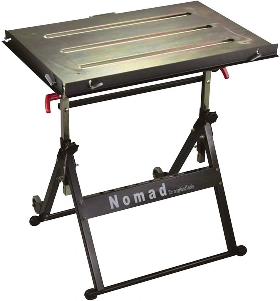 Nomad Portable Welding Table